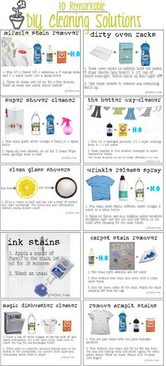 Foodless Fridays - Top 10 DIY Household Cleaners - I Breathe... I'm Hungry...
