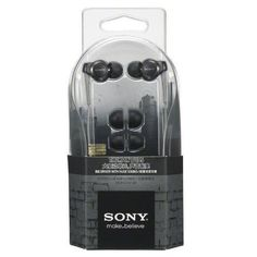 New Sony MDR-EX210B Stereo Headphones Buds Earbuds In-Ear With Extra Bass