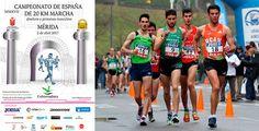 Gran Campeonato de España de 20km marcha hombres el que se avecina este domingo en Mérida.