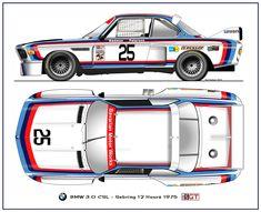 BMW 3.0 CSL Sebring 1975