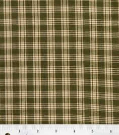 Black /& White Small Plaid Reversible Cotton Fabric Per Yard Homespun Burgundy