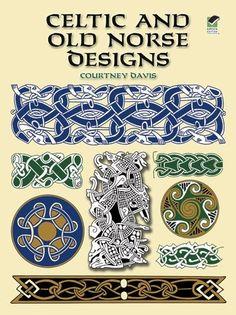 Celtic and Old Norse Designs (Dover Pictorial Archives) von Courtney Davis, http://www.amazon.de/dp/0486412296/ref=cm_sw_r_pi_dp_T4hlrb1Y5DH6J