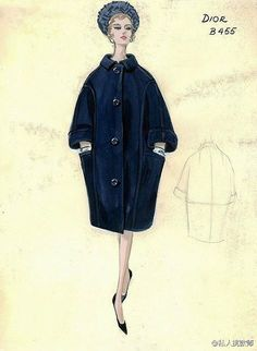 Vintage fashion coat