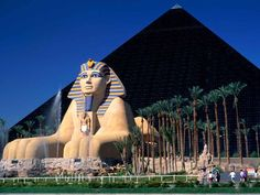 The Luxor in Vegas...