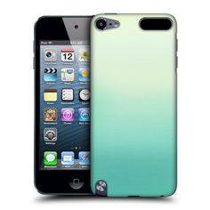 Head Case Green Ombre Design Back Case Cover for Apple iPod Touch 5g 5th Gen | eBay