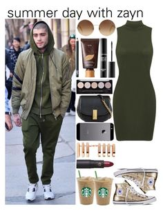 Untitled #971 by fatima-styles102 on Polyvore featuring polyvore fashion style Converse Marc Jacobs Repossi Victoria Beckham tarte L.A. Colors MAKE UP FOR EVER Lipstick Queen NARS Cosmetics FingerPrint Jewellry clothing