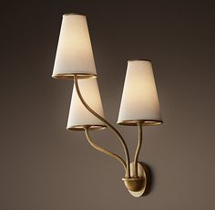 Montreuil Triple Sconce circa lighting