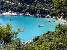Golden beach Thassos island - Greeka.com   Greece   Greek islands