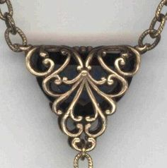 A discussion with pix of how to use/create unique bails.  The info is good and apparently the components are sold by VintageJewellerysupplies.com  #wire #jewelry #tutorial
