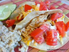 Healthy Family Cookin': Chicken Taco Meat {Electric Pressure Cooker Recipe}