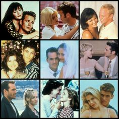 BH 90210 Dylan and Brenda,Ray and Donna,Steve and Janet,Brandon and Kelly,Dylan and Toni,David and Val,Dylan and Kelly,Dan (this should be Jesse) and Andrea and David and Donna