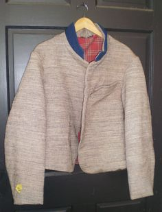 Commutation Jacket Blank from Ben Tart Blue Collar with tiger jean wool