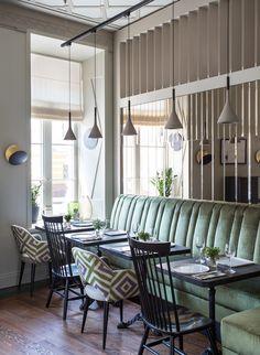 Ресторан Rombus в Москве. Restaurant interior design by Mia Karlova. Дизайн ресторана — Мия Карлова.
