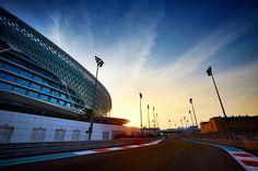 Track Walking at the 2014 #F1 Etihad Airways Abu Dhabi Grand Prix