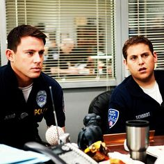 CHANNING TATUM & JONAH HILL IN 21 JUMP STREET  JENKO: You have the right to remain...an attorney.   DEPUTY CHIEF HARDY: Did you just say you have the right to be an attorney?   SCHMIDT: You do...have the right to be an attorney...if you want to.