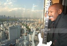 Nathan East during Nathan East in Penthouse Suite - Photo Session at Cerulean Tower Tokyu Hotel in Tokyo, Japan.