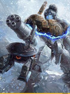warhammer 40000,wh песочница,фэндомы,tau empire,Gun Drone,Кликабельно