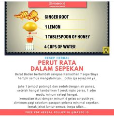 "Minuman Perut Rata - Minuman Perut Rata "" Minuman Perut Rata The Effective Pictures We Offer You About trends food A - Healthy Juice Drinks, Healthy Juices, Healthy Herbs, Healthy Tips, Health Diet, Health And Nutrition, Home Health Remedies, Herb Recipes, Herbal Medicine"