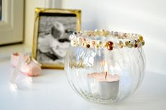 Pearl Candle Bowl