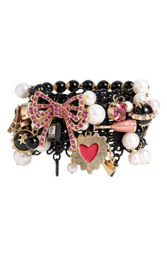 Betsey Johnson 'Betsy Paris' Stretch Bracelet - Nordstrom
