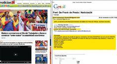 """¡ALERTA! PORTAL CAZA BOBOS: """"Noticias 24"""" delata a sus usuarios en el Sebin"""