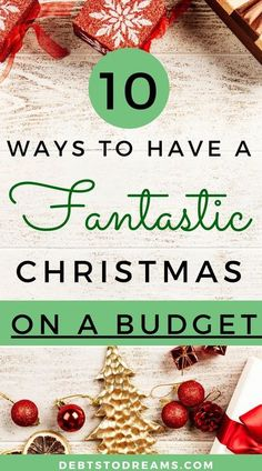 10 Tips to help you save money and still have a wonderful Christmas! Free Printables to help you get organized this year!