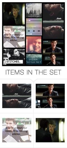 """""""Stitches by Shawn Mendes"""" by heartandsoul ❤ liked on Polyvore featuring art, music, expression and shawnmendes"""