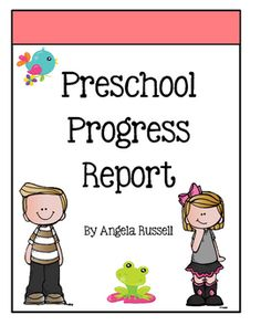 This is a cute but useful resource that enables teachers to show parents how their child has progressed in their classroom. I use it for my teacher/parent conferences. It is simple and stress free. It is an 11 page booklet that provides information about the skills their child knows and needs to work on before entering Kindergarten.