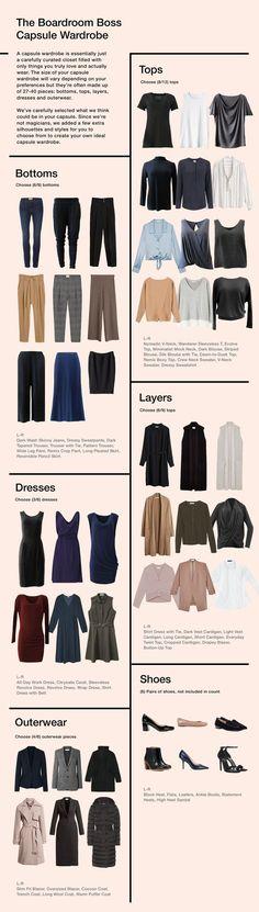 Fashion Casual Chic Capsule Wardrobe Ideas For 2019 Capsule Outfits, Fashion Capsule, Minimalist Wardrobe, Minimalist Fashion, French Capsule Wardrobe, Classic Wardrobe, Trendy Fashion, Fashion Outfits, Fashion Clothes
