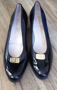 salvatore ferragamo shoes Boutique. Size4 Black. Designer, Excellent Quality | eBay