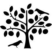vogels in de boom