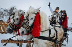 Celebrating the Malanka winter festival – in pictures