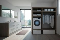 Armadio Lavanderia Stireria : Arredamentolissone mobile lavanderia stireria