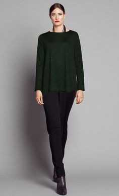 FOREST MERINO SWING TOP NWKM002FOR