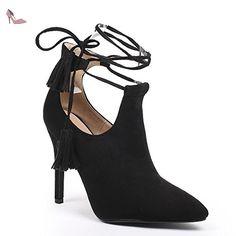 Ideal Shoes - Escarpins effet daim Kara Bleu 40 - Chaussures ideal shoes  (*Partner-Link)   Chaussures Ideal Shoes   Pinterest   Idéal, Daim et Link