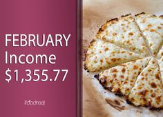 February Income – $1,355.77 and How to Do Giveaways