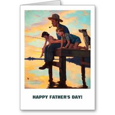 Father's Day Postcards with a retro magazine illustration. Matching cards and products available in the Holidays / Father's Day / Vintage Illustrations Category of our store. Father's Day Greeting Cards, Custom Greeting Cards, Fathers Day Crafts, Happy Fathers Day, Father's Day Celebration, Grandparents Day Gifts, Magazine Illustration, Matching Cards, Vintage Art Prints