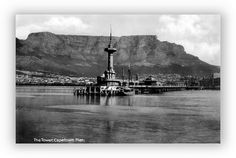 The Tower, Cape Town Pier | Flickr - Follow string of pics for lovely glimpses into history Cities In Africa, South Afrika, Cape Town South Africa, Most Beautiful Cities, Antique Maps, Historical Pictures, Old Photos, Travelling, Random Stuff