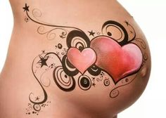 Magnifique dcouvrez le belly painting des futures mamans painted christmas baby belly pictures face and prenatal belly painting new jer Face Painting Tutorials, Face Painting Designs, Baby Belly Pictures, Bump Painting, Pregnant Belly Painting, Belly Art, Belly Casting, Belly Bump, Henna Patterns