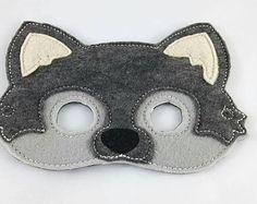 Woodland Mask Fox Mask by JackBeThimbleWPG on Etsy