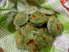 Tigelle agli spinaci
