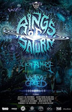 NEWS: The death metal band, Rings of Saturn, has announced the rescheduled dates of their Mexico tour, for December. They will be touring in support of their latest album, Lugal Ki En. Lack of Remorse and Victim of Greed will be joining, as support. You can check out the dates and details at http://digtb.us/10TgAWS