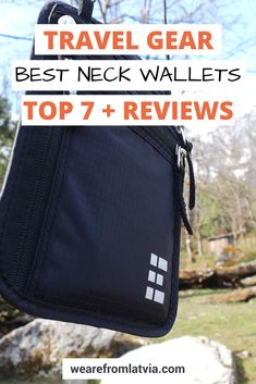 A neck wallet can be a life-saver. Looking for the best neck wallet for yourself? Check out this guide where we compare 7 of the best travel neck wallets. Travel Packing, Travel Bags, Packing Hacks, Packing Lists, Online Travel Agent, Travel Advice, Travel Ideas, Budget Travel, Travel Gadgets