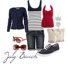 July Beach. I think I already own all these pieces...except the hardware :)