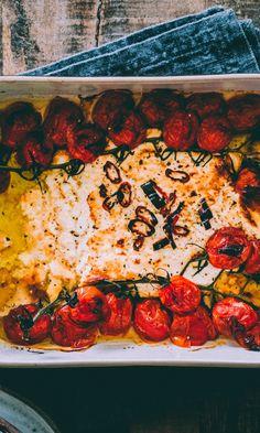 Uunifetapasta | Meillä kotona Ratatouille, Chana Masala, Vegetable Pizza, Quiche, Feta, Salads, Food And Drink, Vegetables, Breakfast