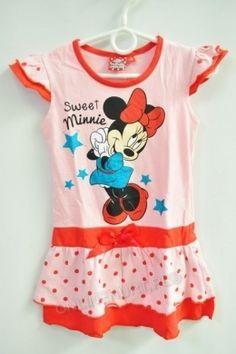 Sukienka Dziewczęca Myszka Minnie GDJ42155  _A12  (3-8)