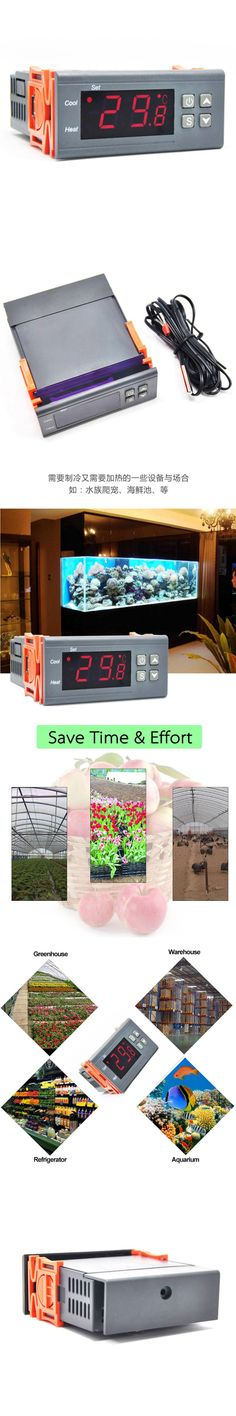 RC-316M 230V10A C Cool Heat Brooding Hatching Regulator Digital Thermostat Temperature Controller For Incubator Lab
