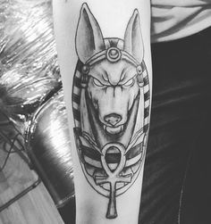 60 Incredible Anubis Tattoo Designs – An Egyptian Symbol of Protection Check more at http://tattoo-journal.com/best-anubis-tattoo/
