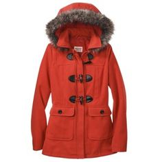 Mossimo Supply Co. Junior's Toggle Coat -Assorte... : Target Mobile