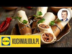 Szybkie burrito - Karol Okrasa - przepisy Kuchni Lidla - YouTube Lidl, Favorite Recipes, Ethnic Recipes, Youtube, Food, Recipies, Essen, Meals, Youtubers